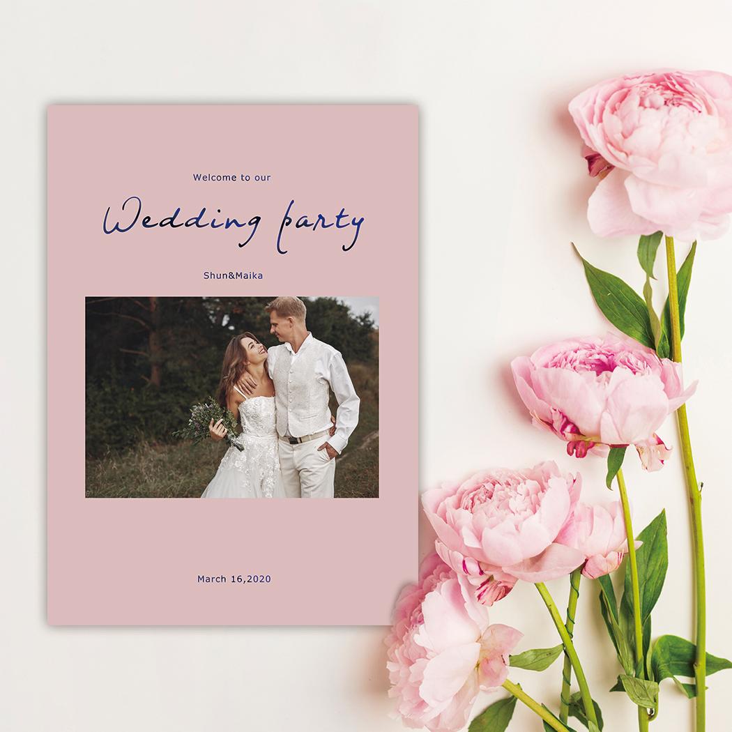 結婚式/セミオーダー/プロフィールブック